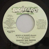 SHAGGY - Body A Shake (Remix) / Bad Man Don't Cry