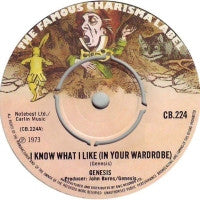 GENESIS - I Know What I Like (In Your Wardrobe) / Twilight Alehouse