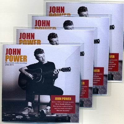 JOHN POWER - The Complete Studio Recordings 2002-2015