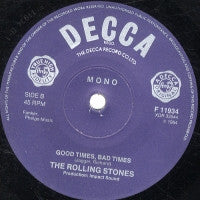 THE ROLLING STONES - It's All Over Now / Good Times, Bad Times