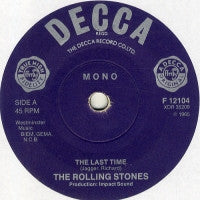 THE ROLLING STONES - Play With Fire / The Last Time