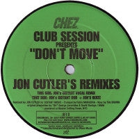 CLUB SESSION - Don't Move