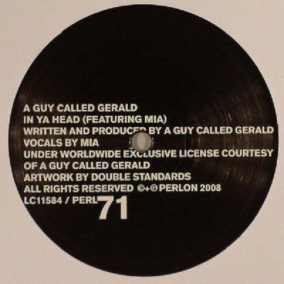 A GUY CALLED GERALD - In Ya Head
