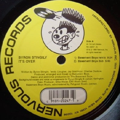 BYRON STINGILY - It's Over