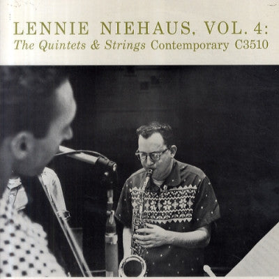 LENNIE NIEHAUS - Vol. 4: The Quintets & Strings