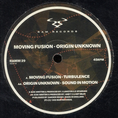 MOVING FUSION / ORIGIN UNKNOWN - Turbulence / Sound In Motion