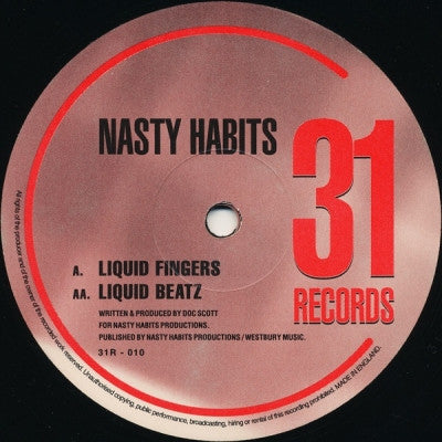 NASTY HABITS - Liquid Fingers / Liquid Beatz