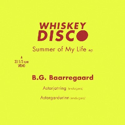 B.G. BAARREGAARD - Summer Of My Life