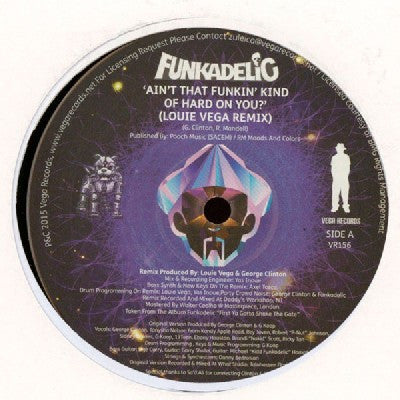 FUNKADELIC - Ain't That Funkin' Kind Of Hard On You