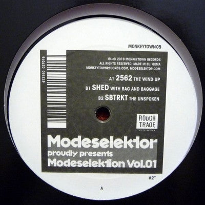 2562 / SHED / SBTRKT - Modeselektion Vol.01 #2