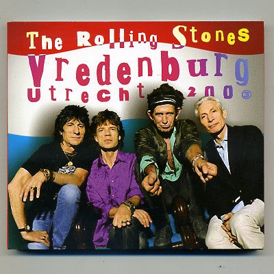 THE ROLLING STONES - Club Gig - Vredenburg Utrecht 2003