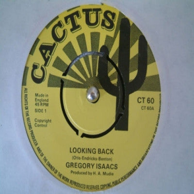 GREGORY ISSAC - Looking Back / Version
