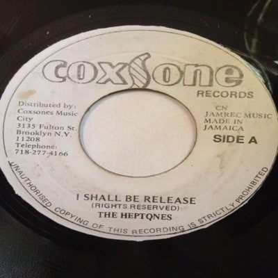THE HEPTONES - I Shall Be Release / Version.