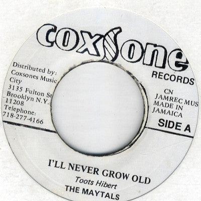 THE MAYTALS / THE SKA-TA-LITES - I'll Never Grow Old / Song Of Love