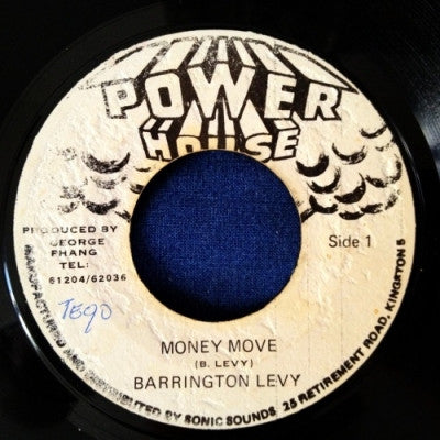 BARRINGTON LEVY - Money Move / Version