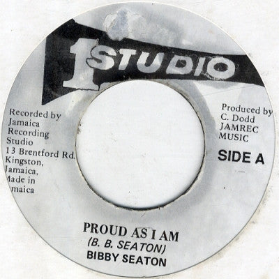 B.B. SEATON - Proud As I Am