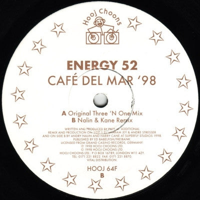 ENERGY 52 - Cafe Del Mar '98