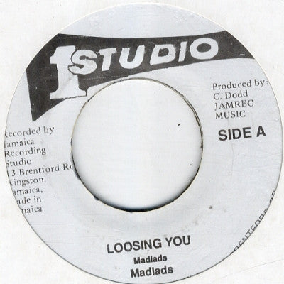 THE MAD LADS - Loosing You (Losing You) / Version.
