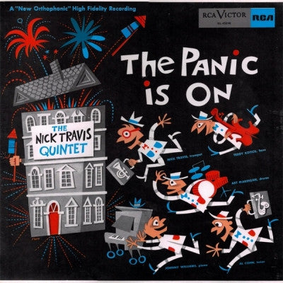 THE NICK TRAVIS QUINTET - The Panic Is On