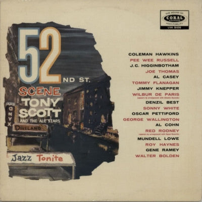 TONY SCOTT & THE ALL STARS - 52nd St. Scene