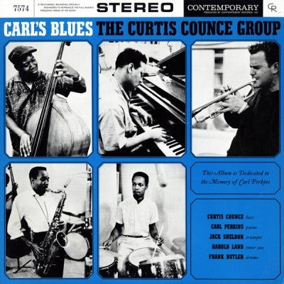 THE CURTIS COUNCE GROUP - Carl's Blues