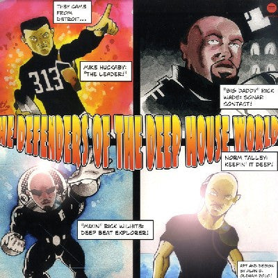 MIKE HUCKABY / RICK WADE / RICK WILHITE / NORM TALLEY - The Defenders Of The Deep House World