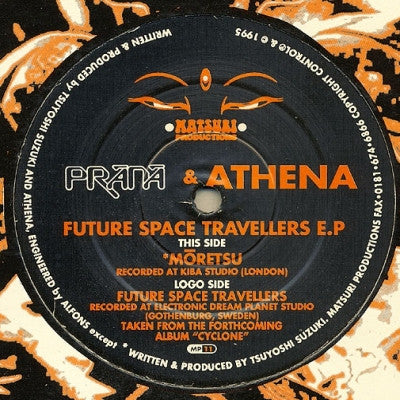 PRANA & ATHENA - Future Space Travellers E.P