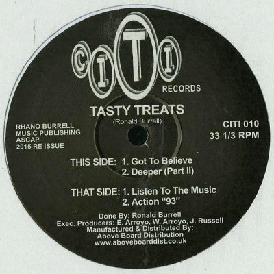 TASTY TREATS - Got To Believe