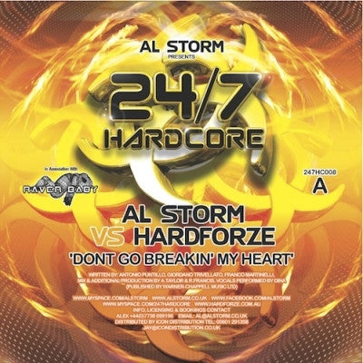 AL STORM VS HARDFORZE / AL STORM VS KUTSKI - Dont Go Breakin' My Heart / Grudge