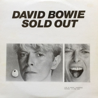 DAVID BOWIE - Sold Out