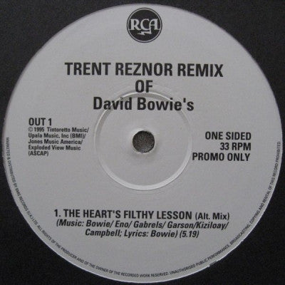 DAVID BOWIE - The Hearts Filthy Lesson