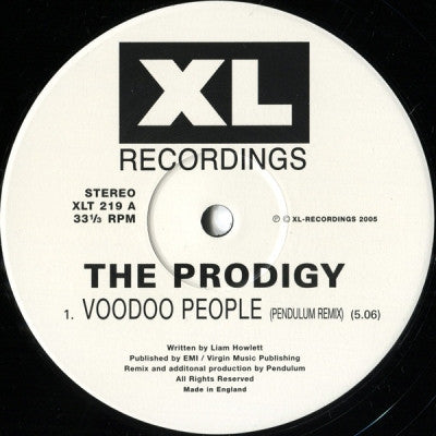 THE PRODIGY - Voodoo People / Smack My Bitch Up (Remixes)