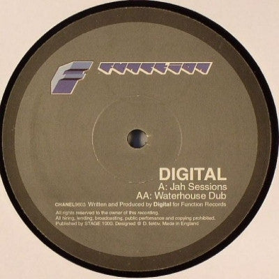 DIGITAL - Jah Sessions / Waterhouse Dub