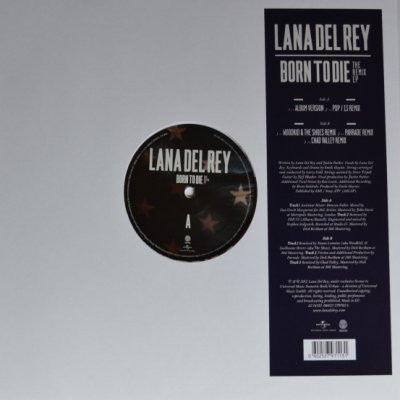 LANA DEL REY - Born To Die: The Remix EP
