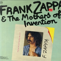 FRANK ZAPPA & THE MOTHERS OF INVENTION - Frank Zappa & The Mothers Of Invention
