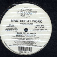 MASTERS AT WORK - I Can't Get No Sleep