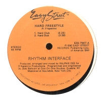 RHYTHM INTERFACE - Hard Freestyle / Never Let It Stop / You Keep Holdin Back