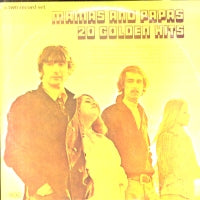 THE MAMAS & THE PAPAS - 20 Golden Hits