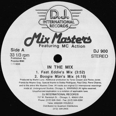 MIX MASTERS FEAT. MC ACTION - In The Mix