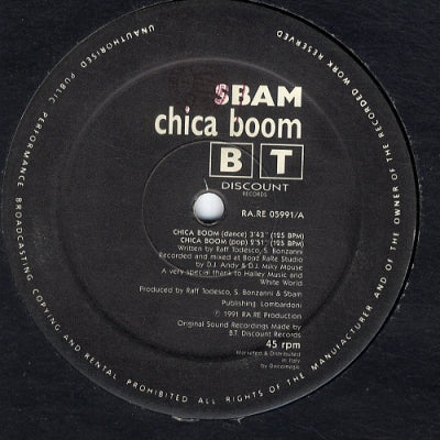SBAM - Chica Boom / I Want My Freedom