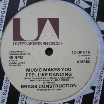 BRASS CONSTRUCTION - Music Makes You Feel Like Dancing / Shakit