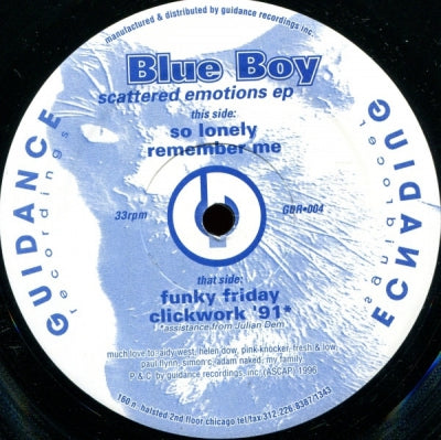 BLUEBOY - Scattered Emotions E.P. feat: Remember Me