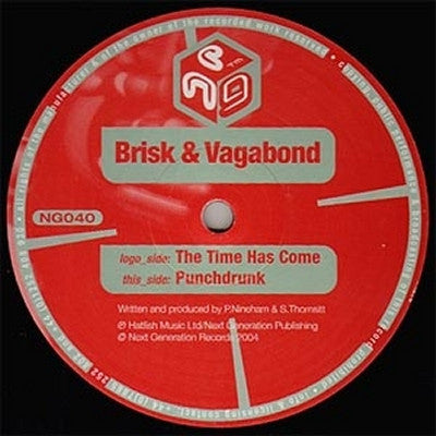 BRISK & VAGABOND - The Time Has Come  / Punchdrunk