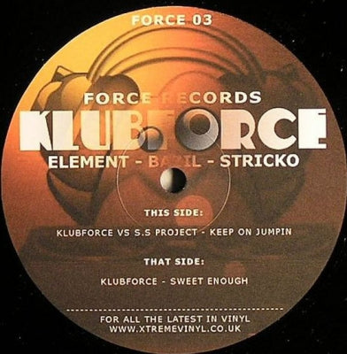 KLUBFORCE VS S.S PROJECT - Keep On Jumpin / Sweet Enough
