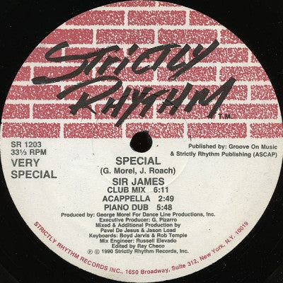 SIR JAMES - Special