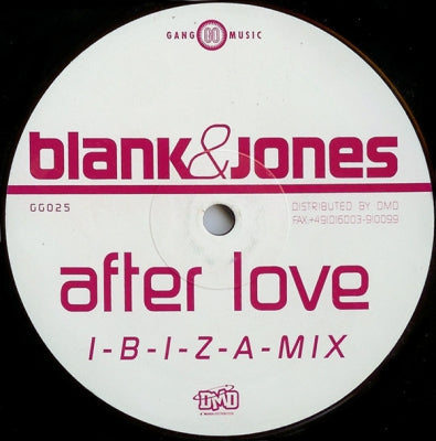 BLANK & JONES - After Love
