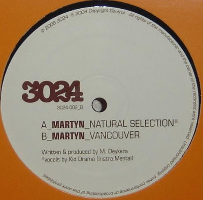 MARTYN - Natural Selection / Vancouver