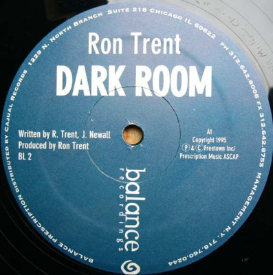 RON TRENT - Dark Room