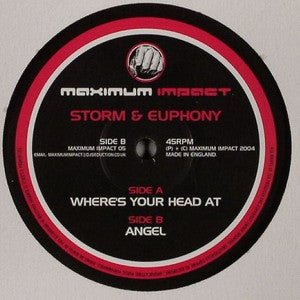 STORM & EUPHONY - Where's Your Head At / Angel