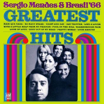 SERGIO MENDES & BRASIL '66 - Greatest Hits Including 'Mas Que Nada'